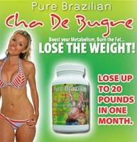 Brazilian diet pills - Cha de Bugre