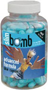 Slim Bomb blue diet pill