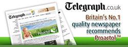 Proactol in the Telegraph