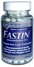 Fastin rapid fat loss pills