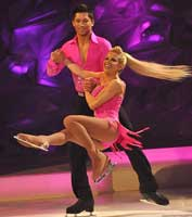 Melinda Dancing On Ice