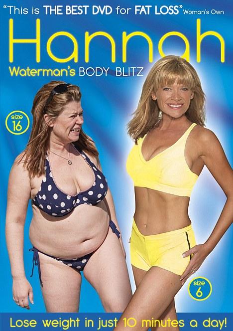 Hannah Waterman Body Blitz DVD