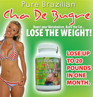 Brazilian diet pills - Cha de Bugre