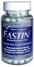 Fastin rapid fat loss pills