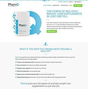 PhenQ website